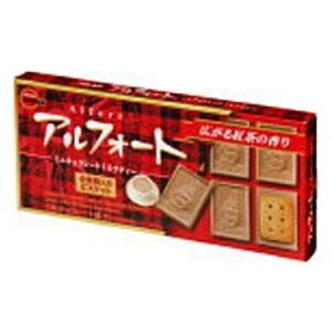 ブルボン 12粒アルフォートミニチョコレート ミルクティー 10箱入|pocket-cvs