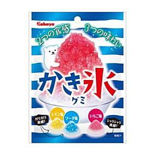 カバヤ 55gかき氷グミ 10袋入|pocket-cvs