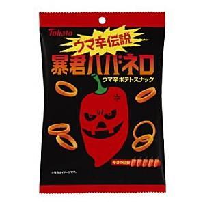 東ハト 56g暴君ハバネロ 12袋入 (スナック菓子)|pocket-cvs