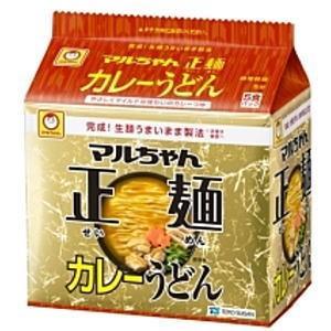 東洋水産 マルちゃん正麺 カレーうどん (95g×5食パック)×6個入り