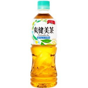 コカコーラ 爽健美茶 525mlペットボトル 24本入