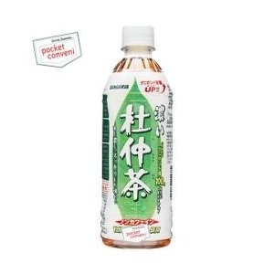 サンガリア 濃い杜仲茶 500mlペットボトル 24本入 (とちゅう茶)