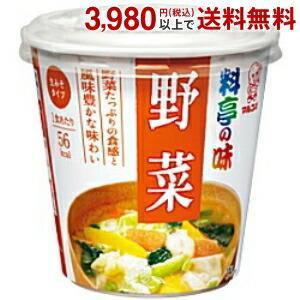 マルコメ 料亭の味カップみそ汁 野菜 6カップ入
