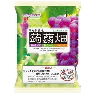 マンナンライフ 蒟蒻畑 ぶどう味 25g×12個入×12袋 (葡萄 グレープ こんにゃくゼリー) pocket-cvs