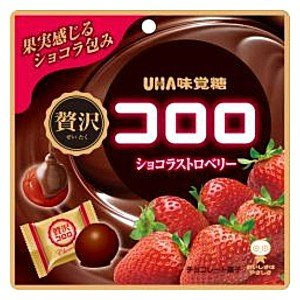 味覚糖 54g贅沢コロロ ショコラストロベリー 6入