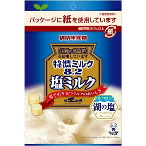 『塩ミルク』 味覚糖 80g特濃ミルク8.2 塩ミルク 6袋入|pocket-cvs