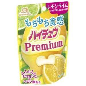 森永 ハイチュウ プレミアム レモンライム 35g×10袋|pocket-cvs