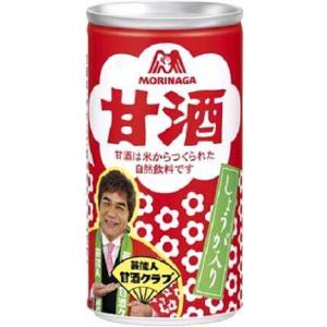 森永製菓 甘酒 しょうが入り 190g缶 30本入
