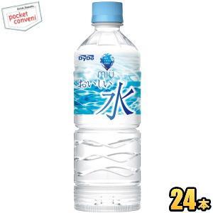 ダイドー miuミウ 550mlペットボトル 24本入 (ミネラルウォーター 軟水)|pocket-cvs