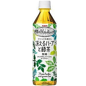 キリン 世界のKitchenから 冴えるハーブと緑茶 500mlペットボトル 24本入 pocket-cvs