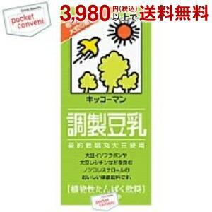 キッコーマン 調製豆乳 1000ml紙パック 12本入(6本×2) (豆乳飲料)|pocket-cvs
