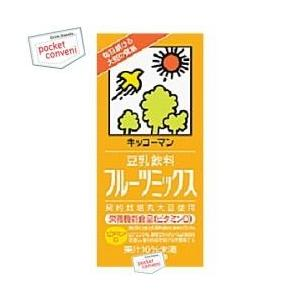 キッコーマン 豆乳飲料フルーツミックス 1000ml紙パック 12本入(6本×2) (豆乳飲料)|pocket-cvs