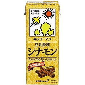 キッコーマン飲料 豆乳飲料 シナモン 200ml紙パック 18本入|pocket-cvs