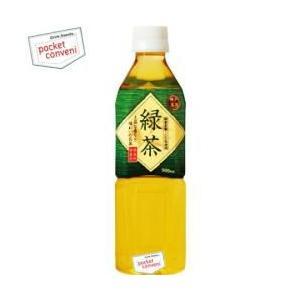 富永貿易 神戸茶房 緑茶 500mlPET 24本入|pocket-cvs