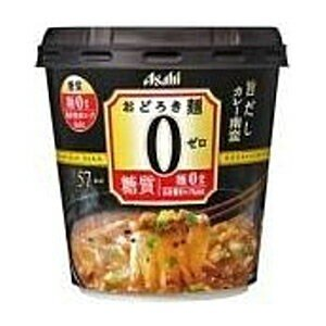 アサヒフード おどろき麺0(ゼロ) 旨だしカレー南蛮 19.6g×6個入