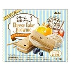 アサヒフード クリーム玄米ブラン チーズのブラウニー 70g×6個入|pocket-cvs