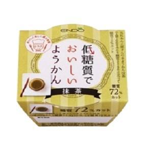 遠藤製餡 低糖質でおいしいようかん 抹茶 90g 6個入 (ようかん) pocket-cvs