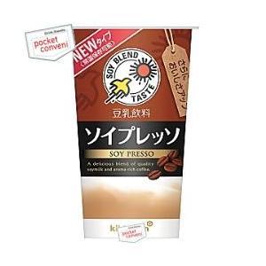 キッコーマン 豆乳飲料 ソイプレッソ 200mlカップ 12本入 (SOY PRESSO)|pocket-cvs