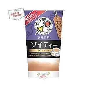 キッコーマン 豆乳飲料 ソイティー 200mlカップ 12本入 (SOY TEA)|pocket-cvs