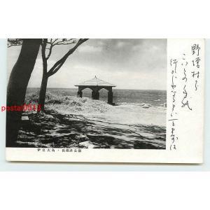 Xe8794東京 大島 長根浜公園【絵葉書