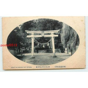 Xm4249石川 和倉温泉 少比古那名神社【絵葉書