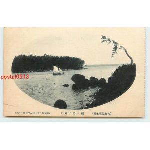 Xm4345石川 和倉温泉 種ヶ島【絵葉書