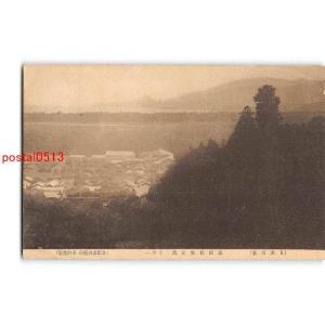 Xu6919岩手 日本百景 高田松原遠観 その1【絵葉書