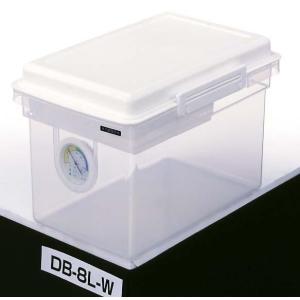 ドライボックス 湿度計 防湿庫 密閉 カメラ収納 除湿乾燥ボックス 8L