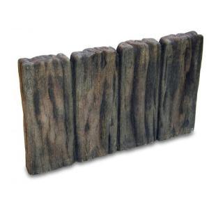 花壇 ブロック ブラウン コンクリート ガーデンスリーパー平行四連 15個セット pocketcompany