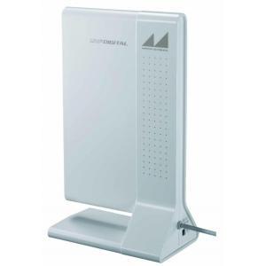 室内アンテナ 地デジ ブースター 室内テレビアンテナ ブースター付 地デジ|pocketcompany