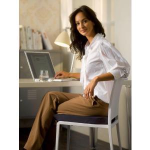 テンピュール クッション 椅子 ドーナツクッション 低反発 事務椅子用クッション