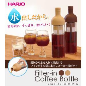 ハリオ 水出しコーヒーボトル hario フィルターインボトルコーヒーボトル pocketcompany