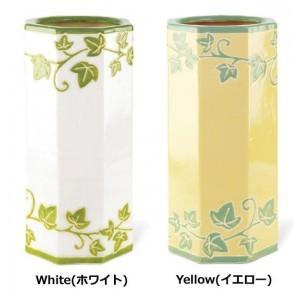 傘立て 陶器 おしゃれ ホワイト アンブレラスタンド 陶器 陶器傘立て ホワイトの写真