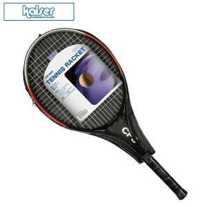手軽にテニスを楽しみたい時に。アルミフレーム使用でとっても丈夫な硬式テニスラケットです。収納カバー付...