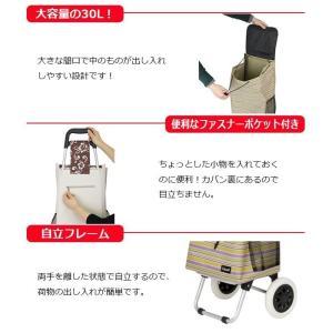 ショッピングカート アルミ お買い物カート おしゃれ 高齢者 軽量 pocketcompany 03