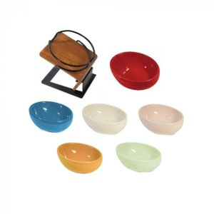 犬 食器 ボウル 猫 食器 台 スタンド 犬 食器台 斜め 木 テーブル|pocketcompany