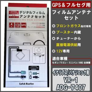 イクリプス フィルムアンテナ セット GPS フルセグ パナソニック