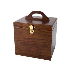 メイクボックス 木製 国産 鏡付き化粧箱 コスメボックス 鏡付き 木製 pocketcompany