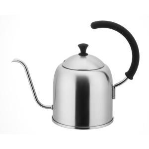 コーヒーを美味しく入れる為にお湯を細かく注ぐことができるφ7mmの細口ケトルです。ガスはもちろんIH...
