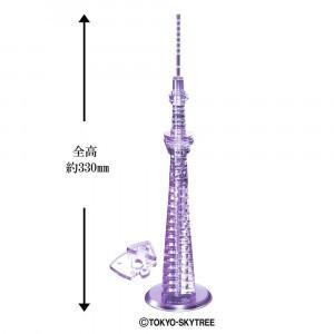 雅風の東京スカイツリー(R)がクリスタルパズルで楽しめます。 製造国:中国 素材・材質:PS(ポリス...