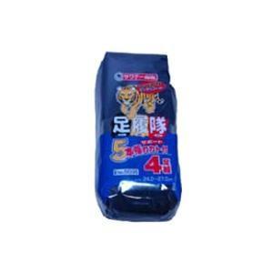 富士手袋工業 足履隊 5本指 カカト付 黒 5035 4P|pocketcompany