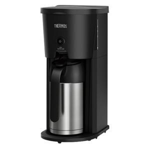 マイコン蒸らし機能でおいしくコーヒーを抽出。電源もいらず、煮詰まらずに保温できるので、ポットを持ち運...