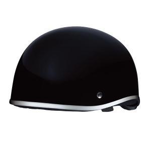 125cc以下のオートバイ用ハーフ型ヘルメットです。調整スポンジ付なので、頭囲に合わせてしっかりフィ...