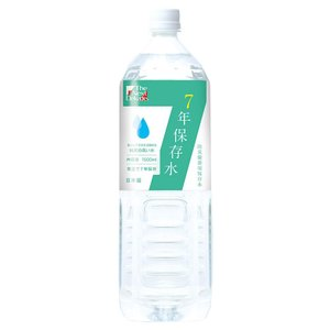 The Next Dekade 7年保存水 1.5L ×8本