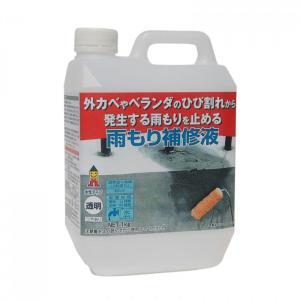 雨漏り補修材 雨漏り防止塗料 雨もり補修液 ベランダの雨漏り補修 2本