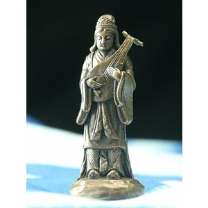 極小仏像 大 弁財天 像 置き物 弁財天像 縁起物 七福神 七福神グッズ