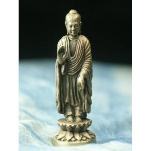 ミニ仏像 座阿弥陀如来 極小仏像 大 亥歳の守り本尊 阿弥陀如来像 浄土真宗