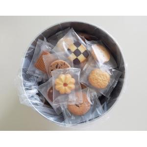 バケツ缶 クッキー 個包装 詰め合わせ 訳ありクッキー どっさり 80個入り