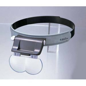 ヘッドルーペ 日本製 精密ヘッドルーペ ヘッドルーペ 拡大鏡 シニアグラス pocketcompany