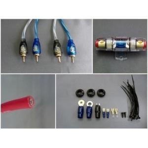 ハイパフォーマンス・カーオーディオケーブルキットです。 製造国:中国 素材・材質:コード:PVC、銅...